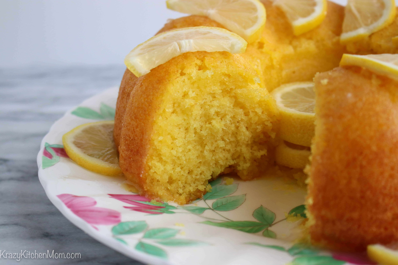 Very Lemon Bundt Cake