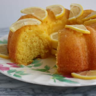 Very Lemon Bundt Cake