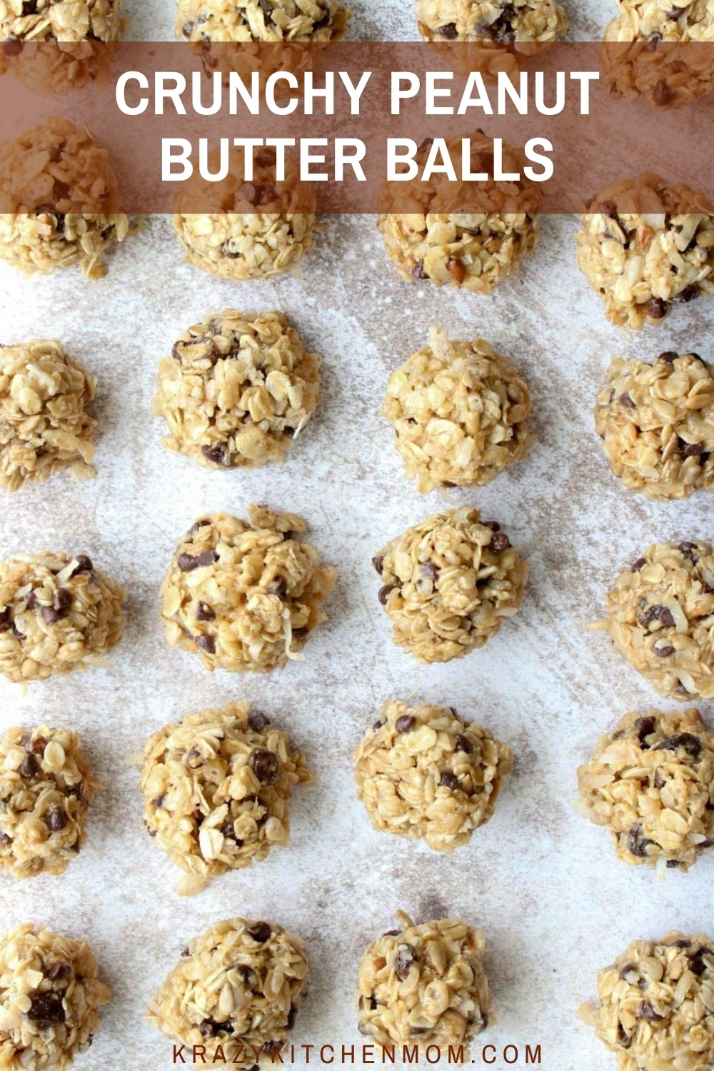 This is the perfect 2-bite no-bake snack to satisfy your sweet tooth, your salty tooth, and your crunchy tooth.  via @krazykitchenmom