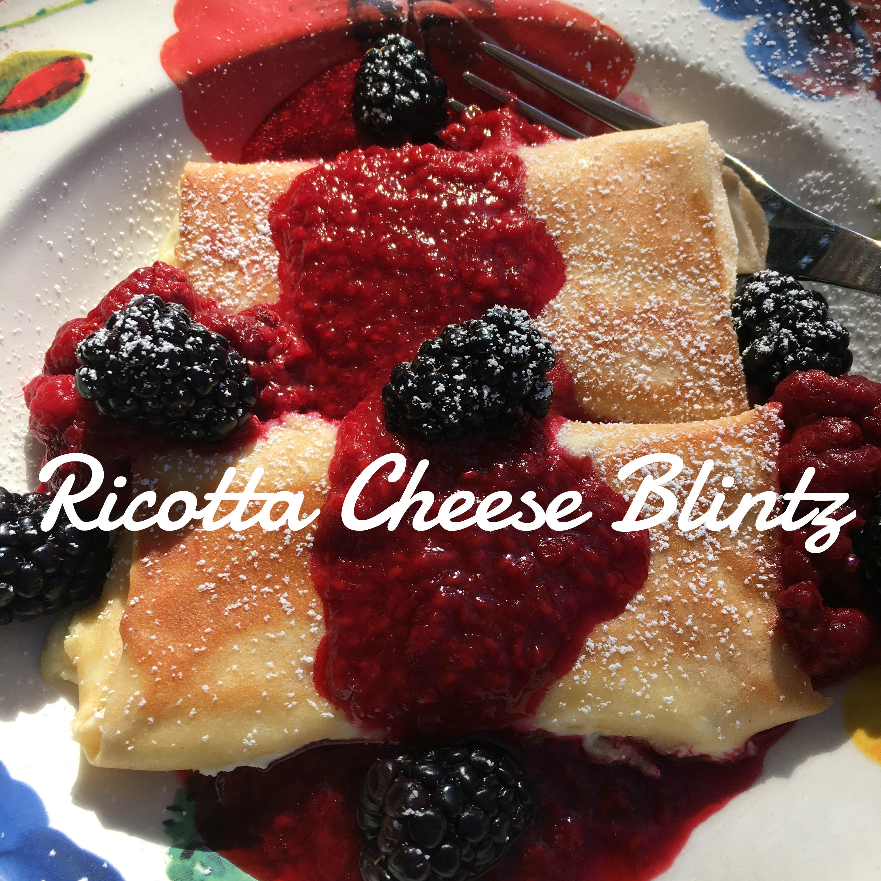 Cheese Blintz Cover