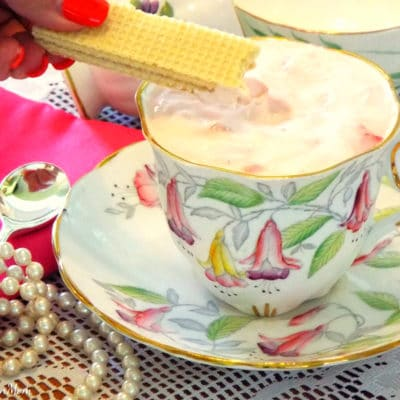 Teatime Strawberry Mousse