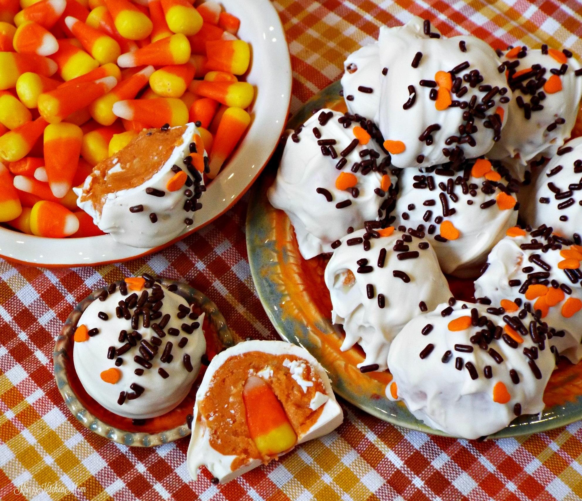 Chocolate Oreos Dunmore Candy Kitchen: Candy Corn Oreo Cookie Balls