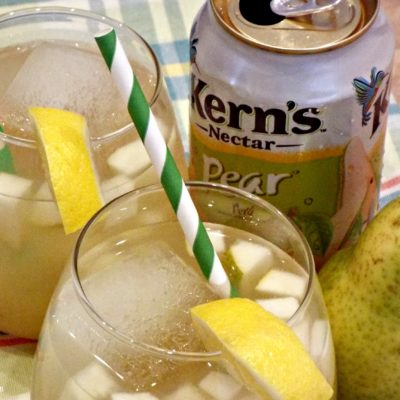 Yummy Pear Cocktail