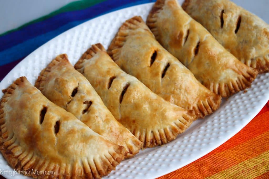 Baked Turkey Empanadas Made with Jennie-O Ground Turkey Breast