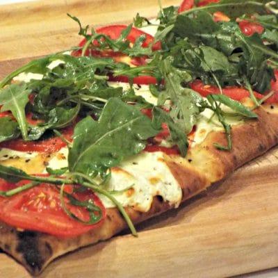 Tomato Mozzarella Flatbread