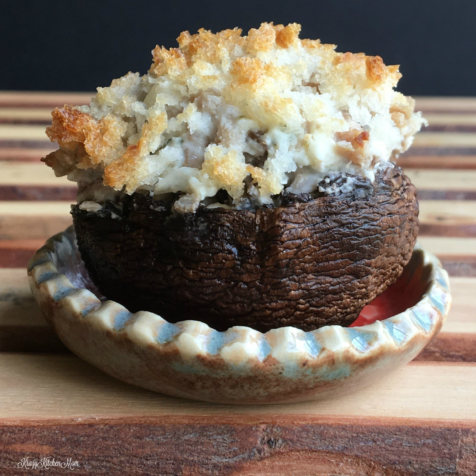 Recipe for stuffed mushrooms