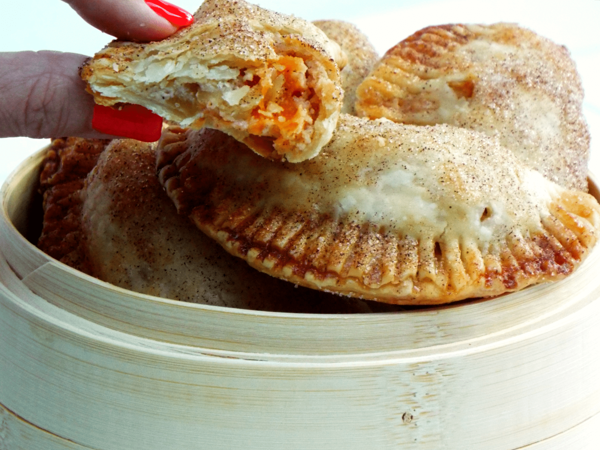 Apple Hand Pies with Cheddar Cheese