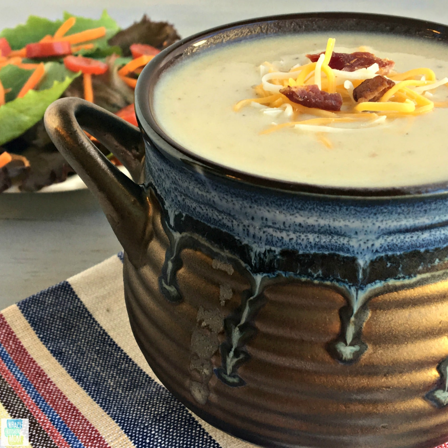 Cream of Leek and Potato Soup, Potato soup. comfort food