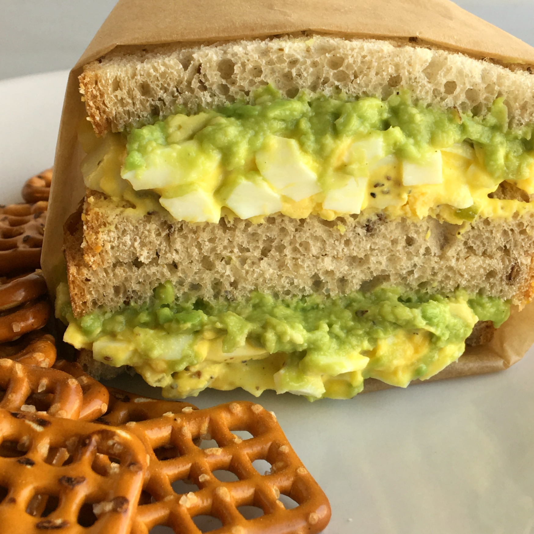 Egg Salad, Avocado Toast, Not Your Mama's Egg Salad Sandwich - Krazy Kitchen Mom