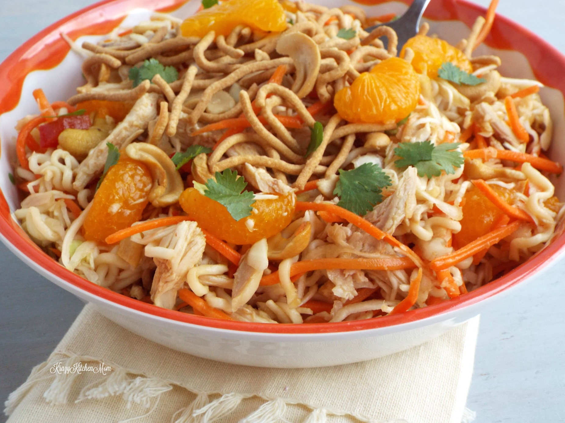 Image result for Spicy Ramen Noodle Salad(Asia)
