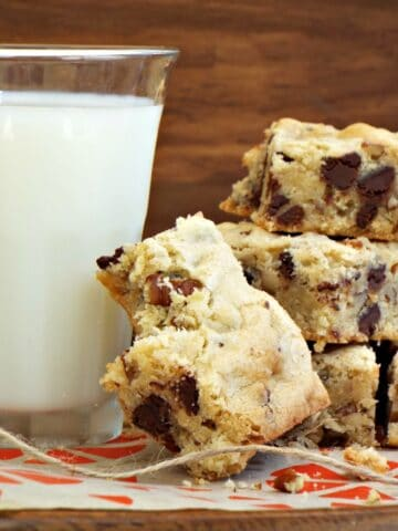 Soft and Chewy Blondies