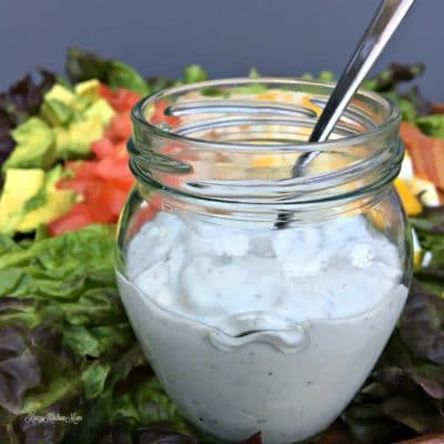 Homemade Blue Cheese Salad Dressing Recipe