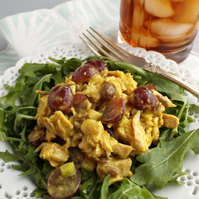 Easy Curry Chicken Salad