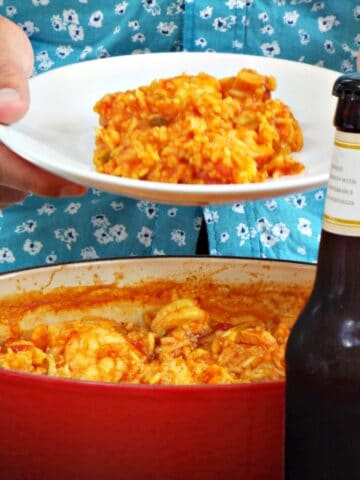 Spicy Creole Jambalaya with Cajun Spiced Turkey