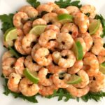 Easy honey lime baked shrimp