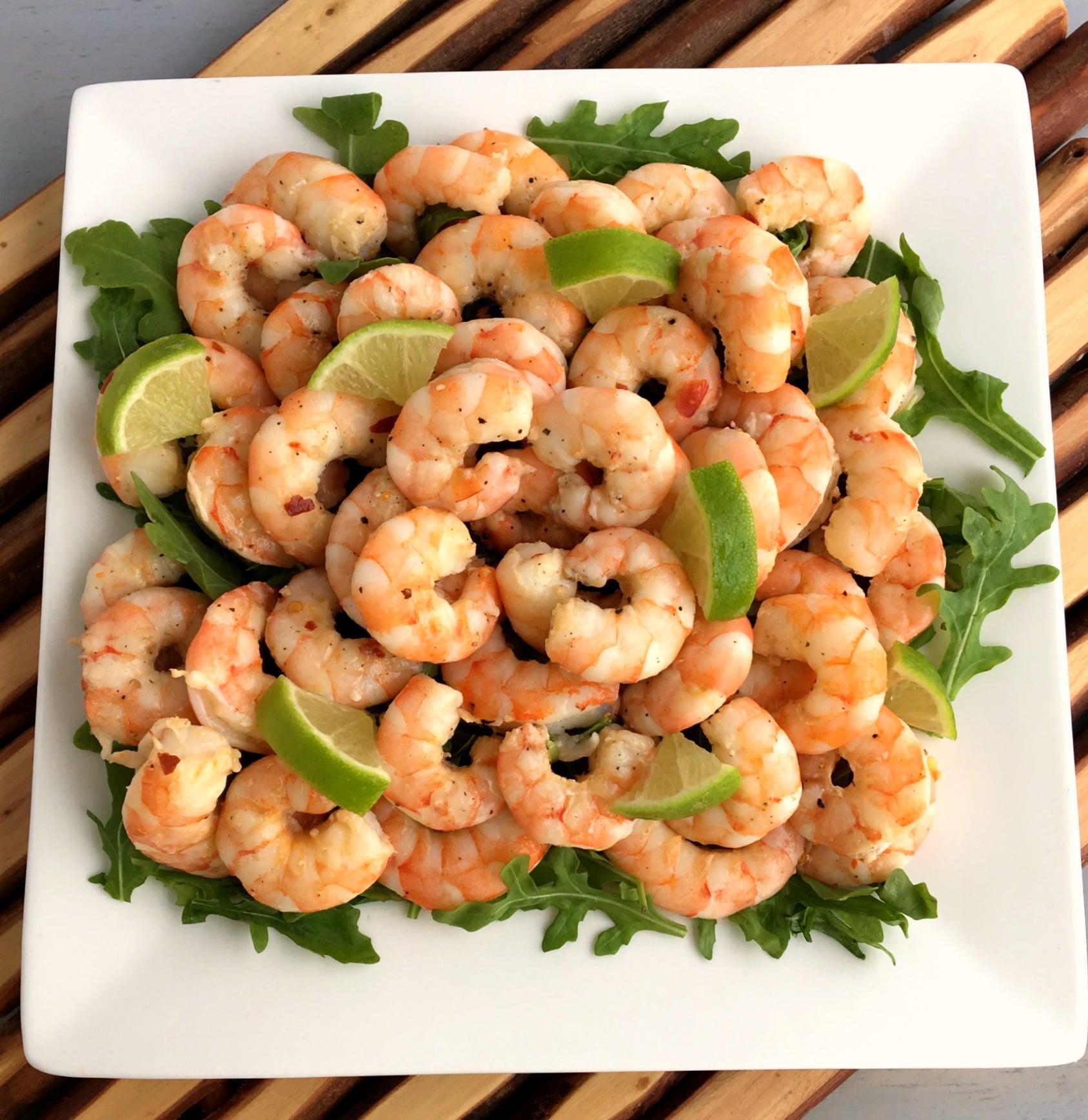 Easy honey lime baked shrimp
