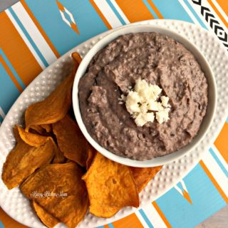 Healthy Black Bean Hummus