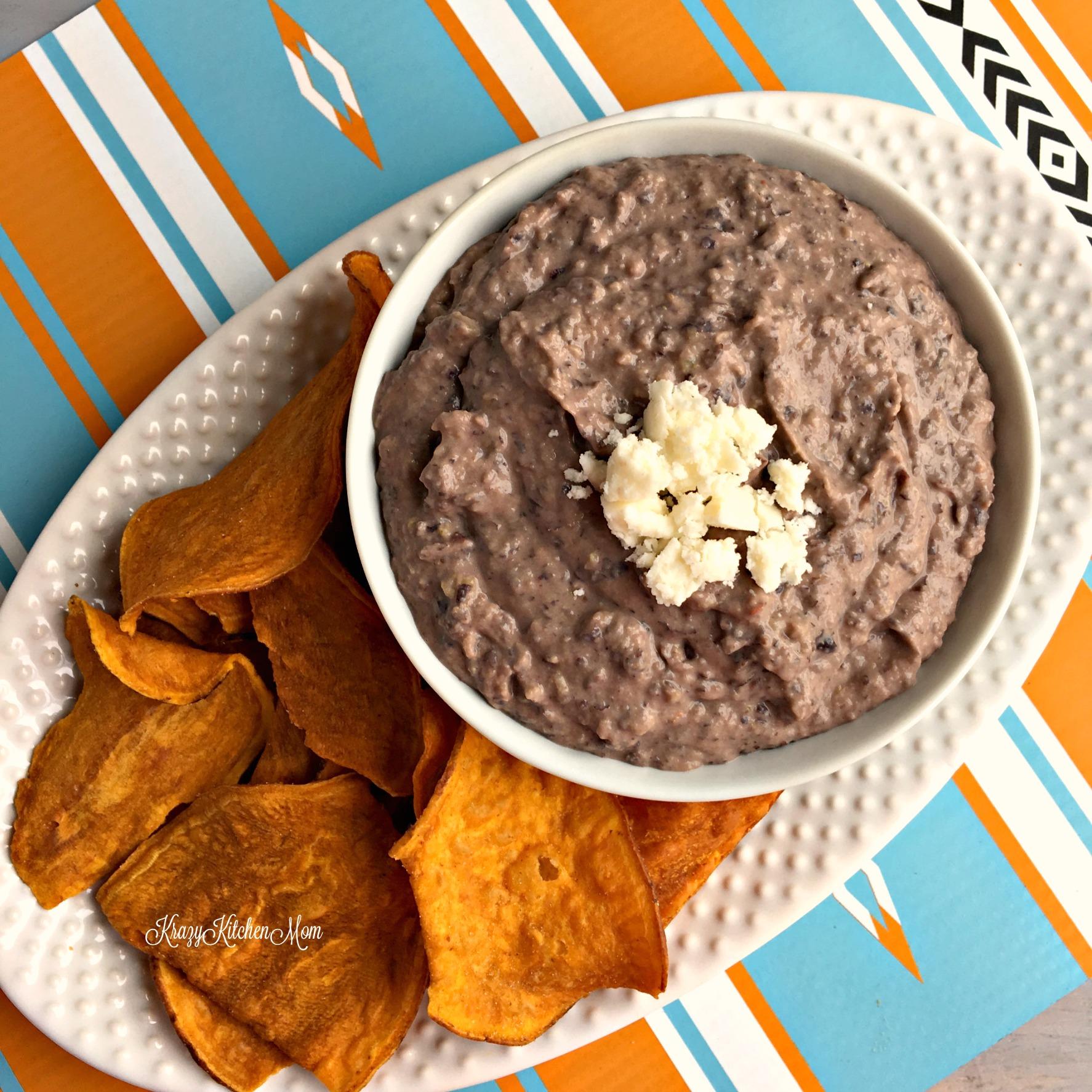 Healthy Black Bean Hummus