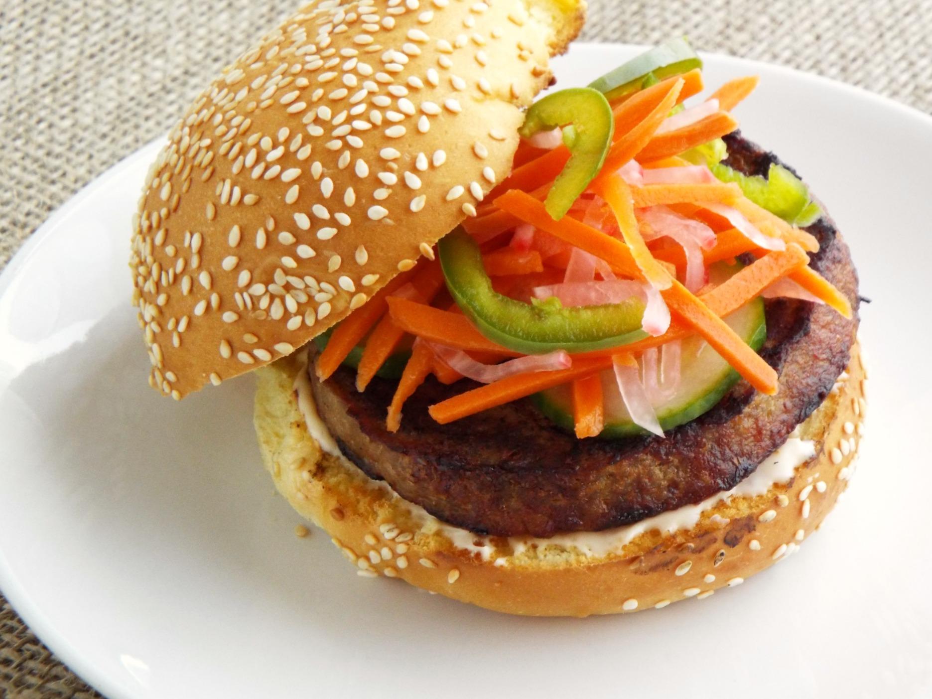 Jennie O Bahn Mi Turkey Burger