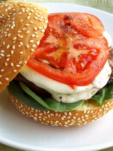 JENNIE-O CAPRESE TURKEY BURGERS