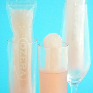Pink Prosecco Ice Pops