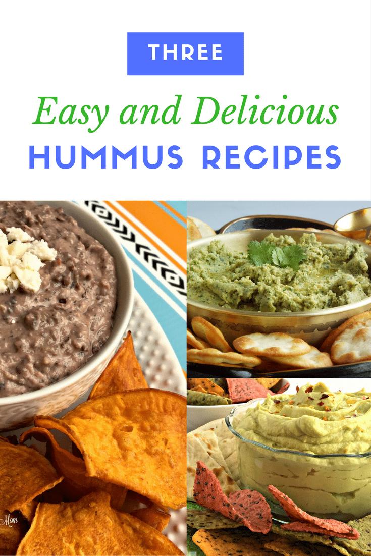 Three Easy Hummus Recipes