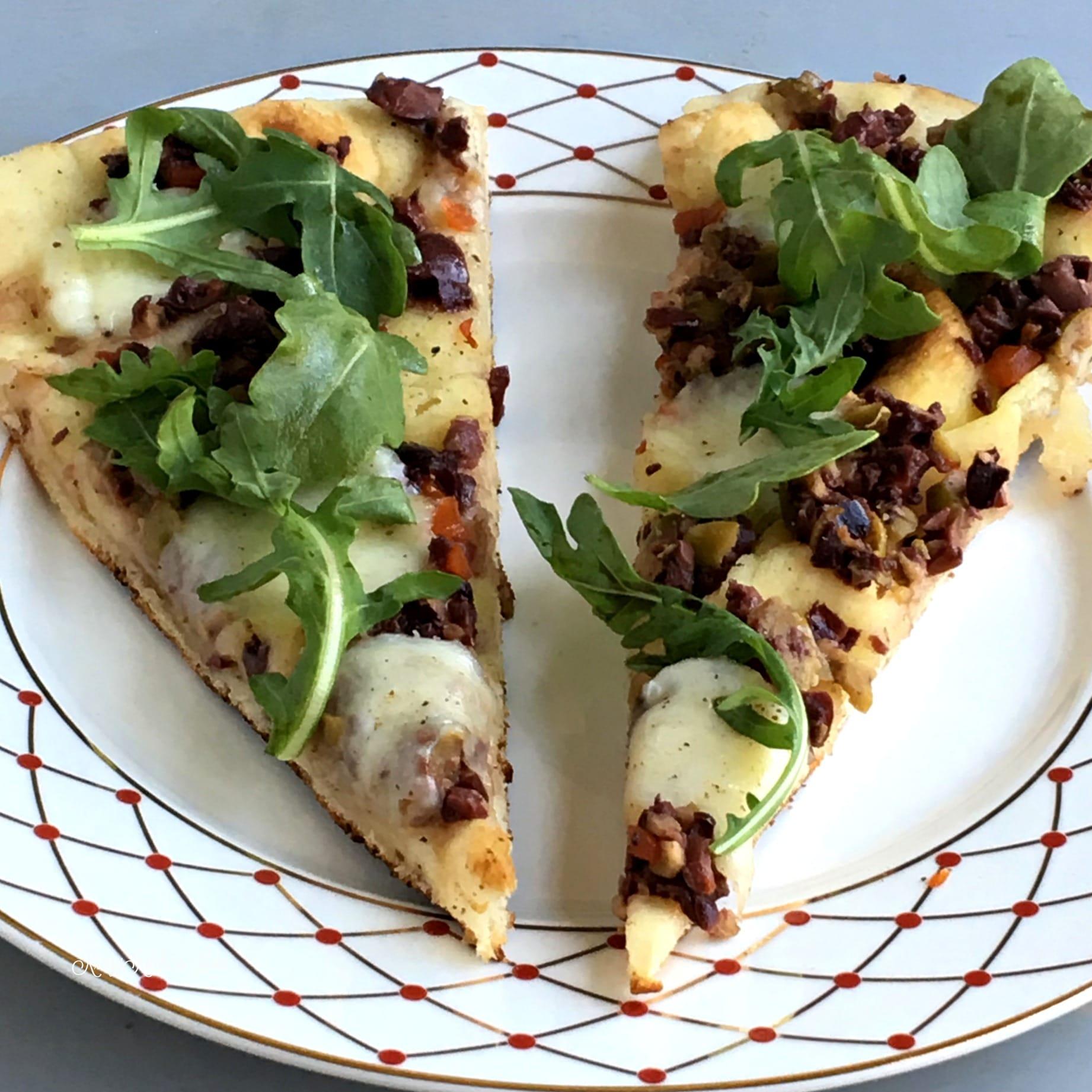 Olive Tapenade Flatbread