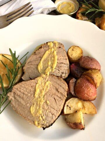 Rosemary Balsamic Pork Tenderloin