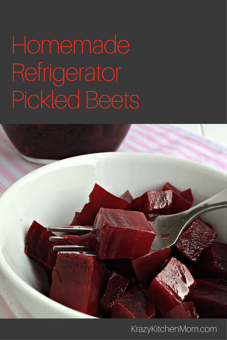 Homemade Refrigerator Pickled Beets