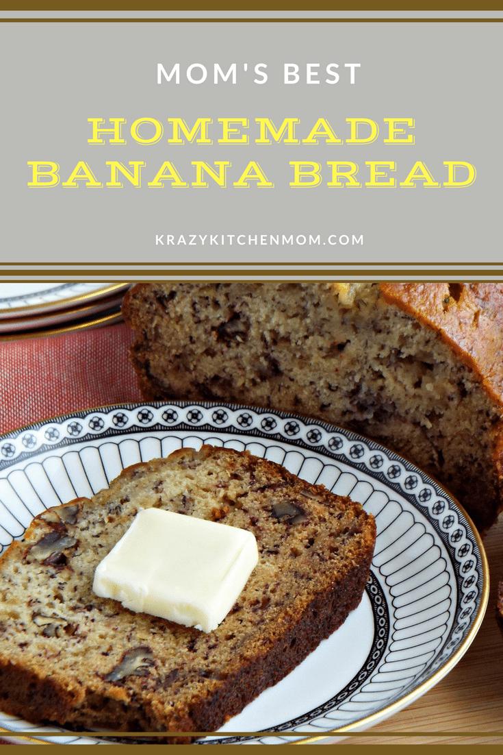 Mom's Best Homemade Banana Bread