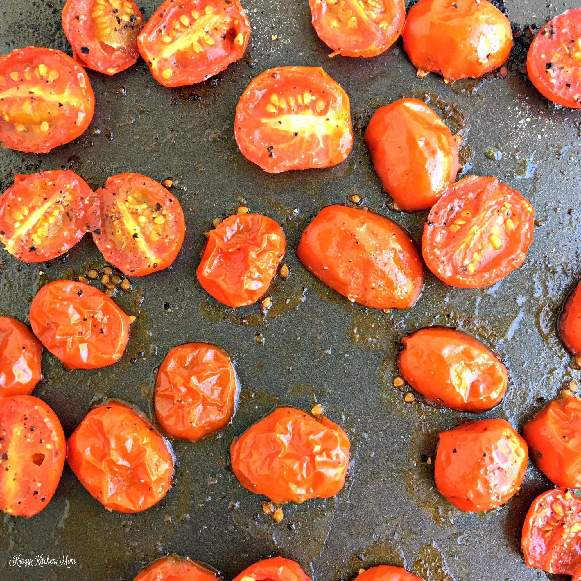Roasted Tomato Ricotta Crostini