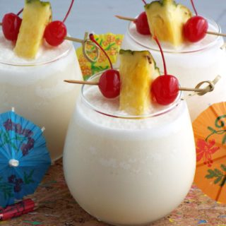 Three Ingredient Frozen Pina Colada