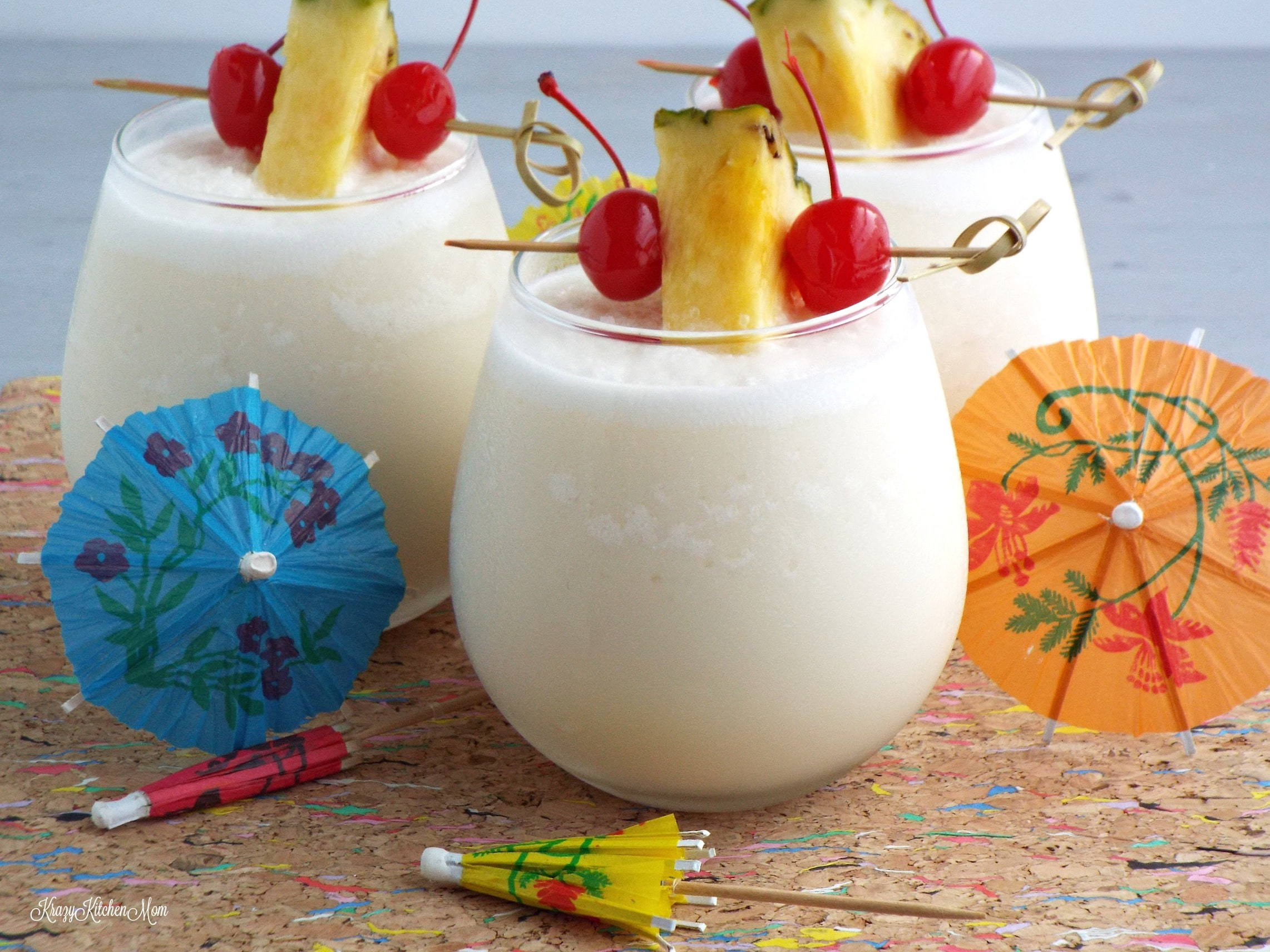 Three Ingredient Frozen Pina Colada