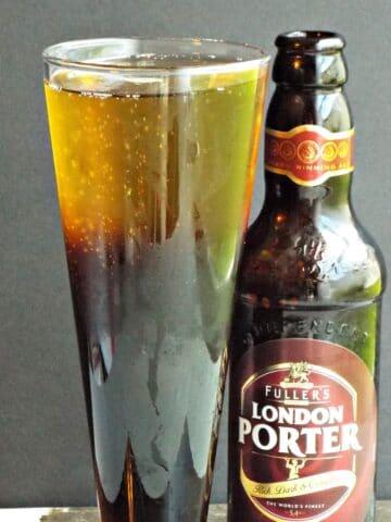 Black Velvet Champagne Beer Cocktail