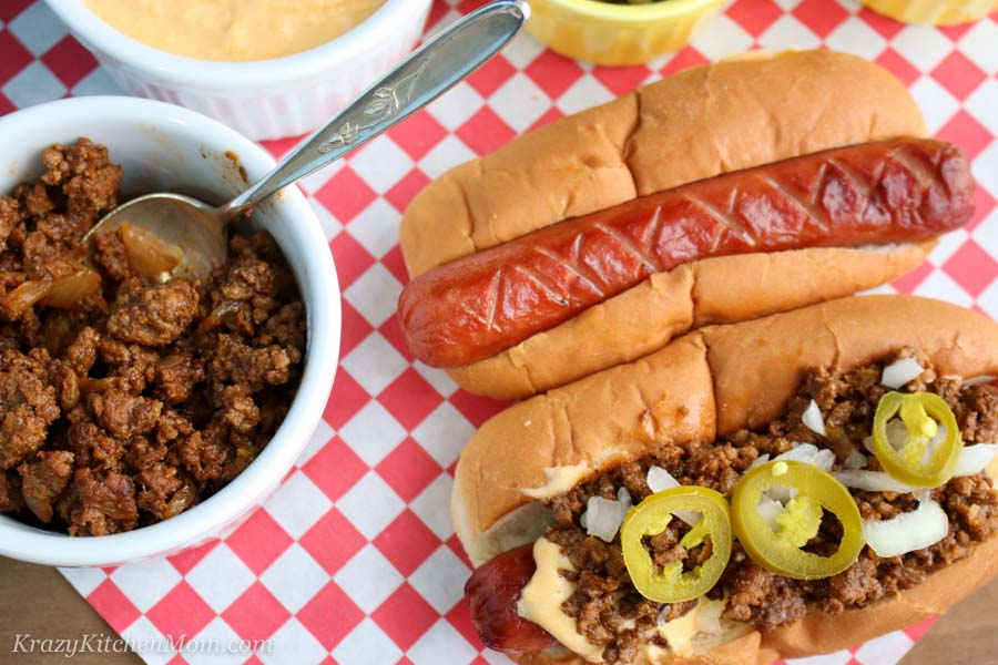 Classic Coney Island Hot Dog