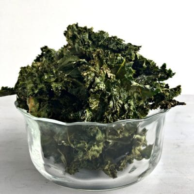 Crispy Healthy Kale Chips