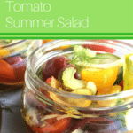 Cucumber Tomato Summer Salad