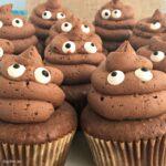 Poop Emoji Cupcakes