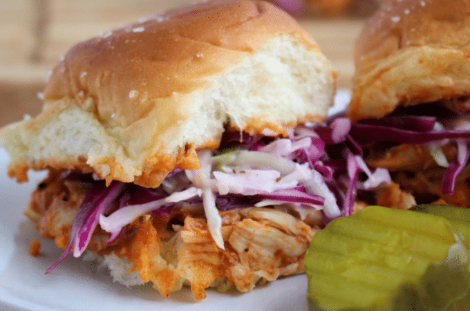 Rotisserie Chicken BBQ Sliders