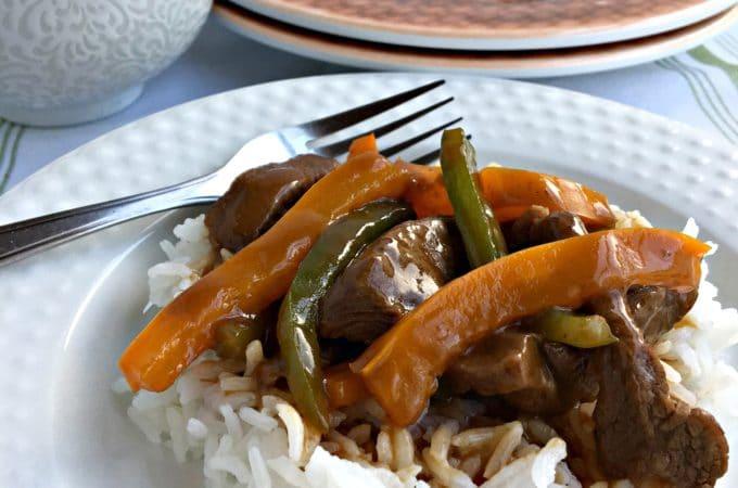 Easy Weeknight Pepper Steak