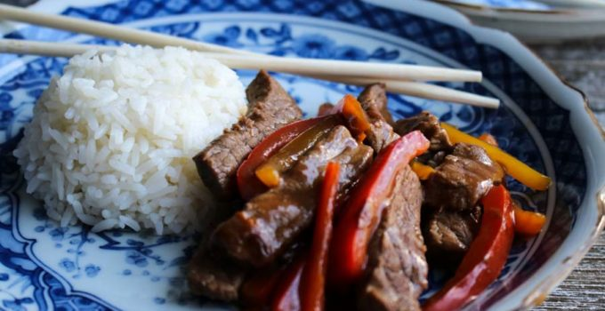Easy Weeknight Pepper Steak