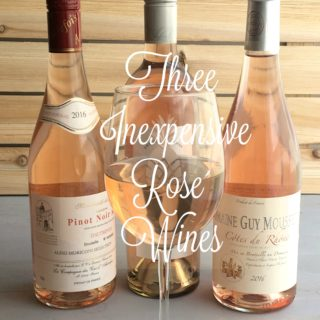 Three Inexpensive Rose Wines