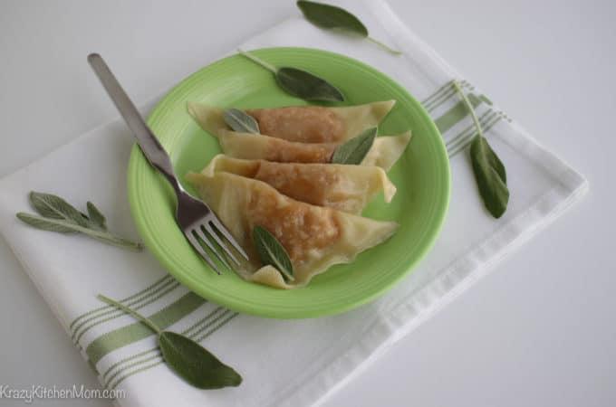 Easy Homemade Butternut Squash Ravioli