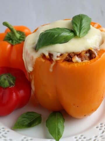 Italian Style Stuffed Bell Peppers