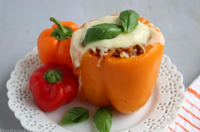 Italian Style Stuffed Bell Peppers