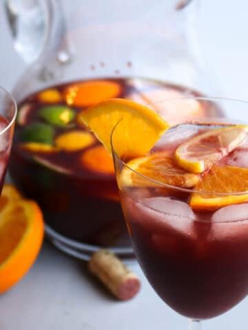 Red Wine Spanish Sangria