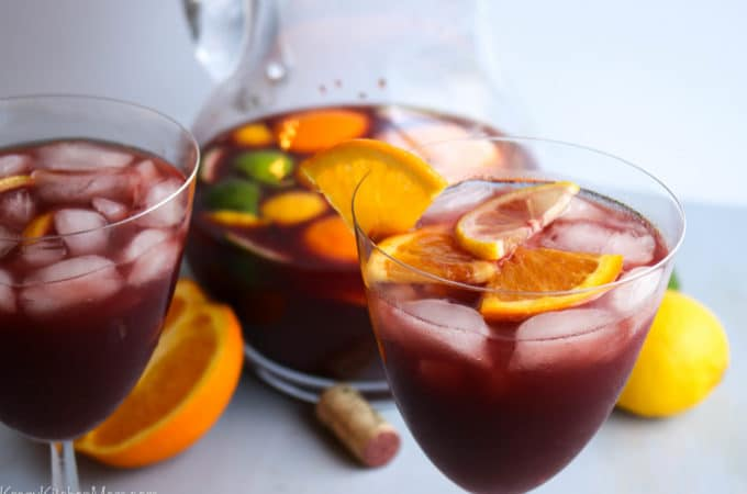 Red Wine Spanish Sangria