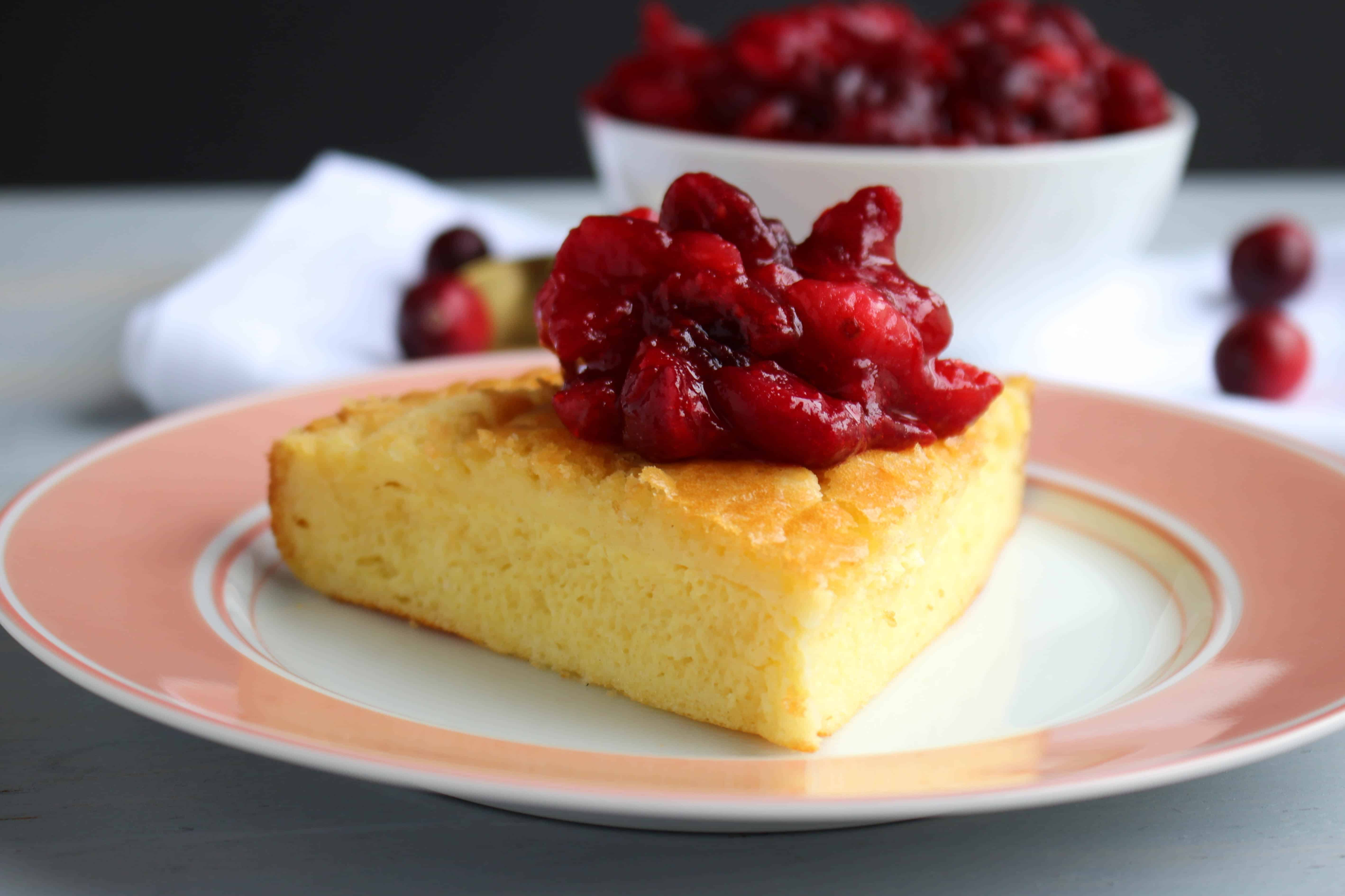Classic Cranberry Sauce as a topping