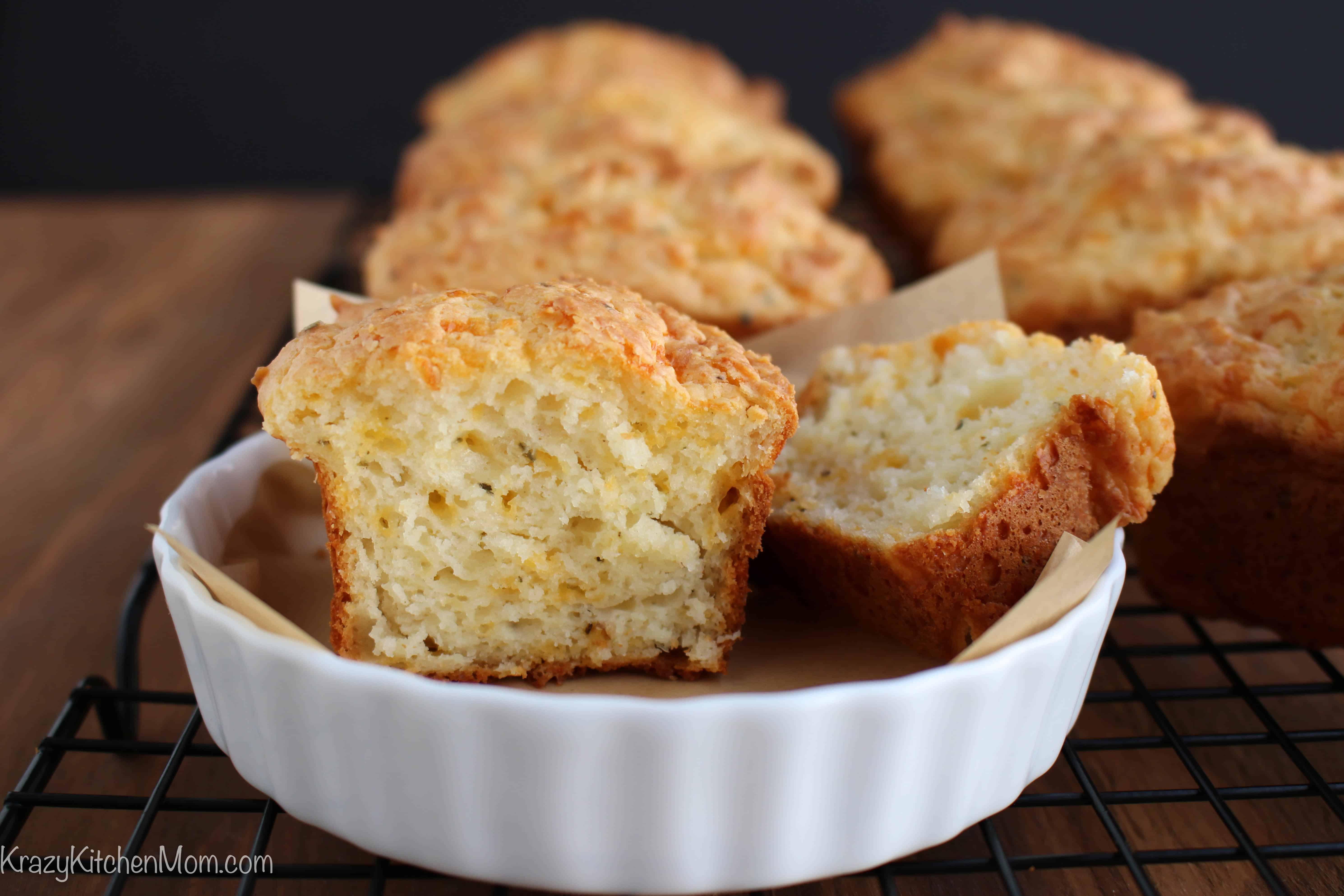 Cheesy Herb Quick Bread