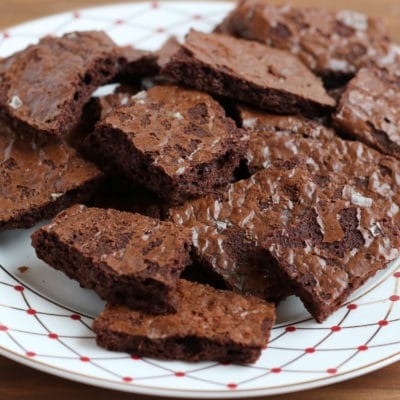 Easy Crispy Brownies From A Box Mix
